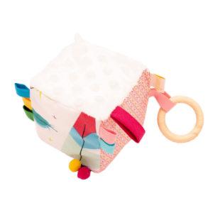 Cub textil BABY - Fulgi si Pene - cuburi senzoriale