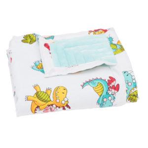 SLEEP WELL Paturica Dragonii din povesti - paturica bebe personalizata