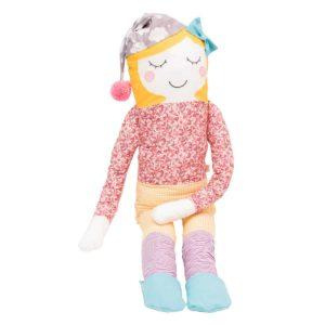 perna papusa textila pentru copii miss wisha