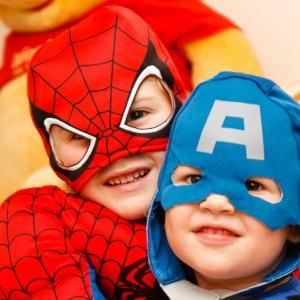 copii super eroi