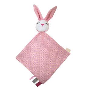 SLEEPY Minipaturica Iepuras roz - jucarie comforter