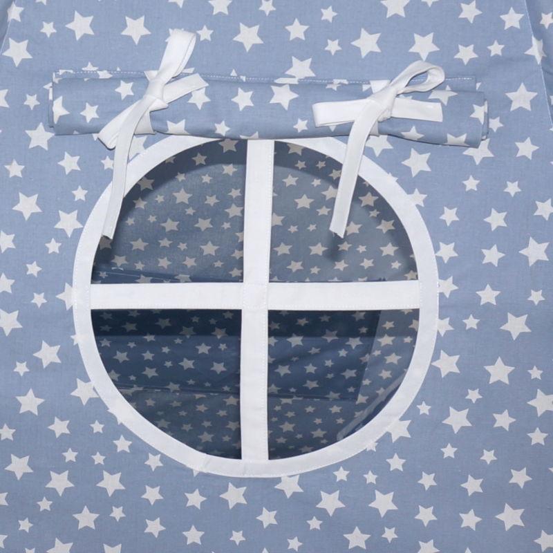 Fereastra Cort de joaca Mii de stele bleu