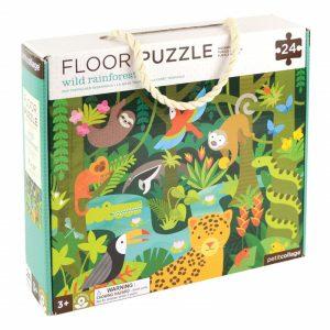 Puzzle de podea animale