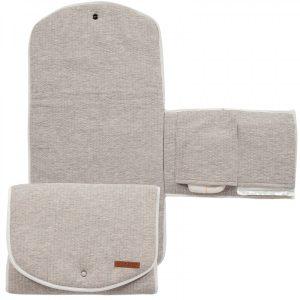 Salteluta portabila pentru schimbat scutece - Pure Grey