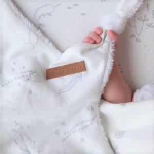 Doudou comforter alb